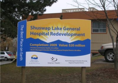 Shuswap Lake Hospital Redevelopment